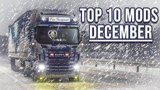 TOP 10 ETS2 MODS - DECEMBER   Euro Truck Simulator 2 mods