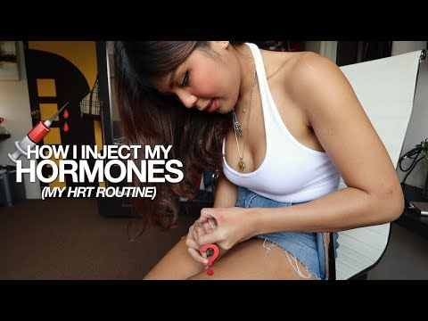 How I Inject My Hormones! (Gigi's HRT Routine) | Gigi Esguerra