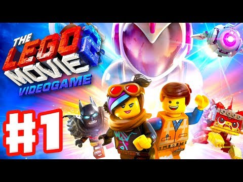 The LEGO Movie 2 game - Gameplay Walkthrough Part 1 - Intro and Apocalypseburg