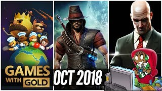 Xbox - October 2018 Games with Gold Lineup - Overcooked - Hitman Blood Money - Victor Vran