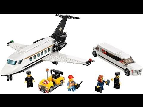 LEGO CITY 60102 Airport VIP Service Review - YouTube