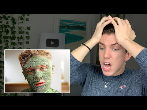 Specialist Reacts To 24 HOUR Clay Mask Challenge