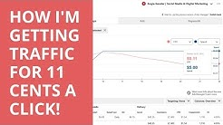 [Pinterest Promoted Pins] - How I'm Getting Traffic for 11 Cents Per Click!