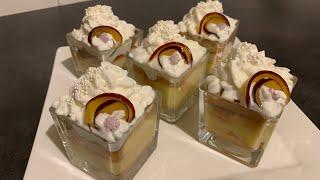 #Desserts#فكرة كؤوس الشموع نشاركها معاكم/دسير مفرد بارد منعش/بدون جنواز/سهل سريع و المذاق يا سلام