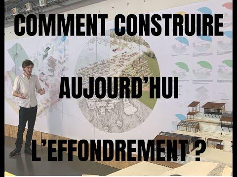 COLLAPSOLOGIE ET ARCHITECTURE - APRES SKI - JEAN LECLERCQ - CONSTRUIRE AUJOURD'HUI L'EFFONDREMENT
