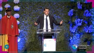 Discours de Pierre Maudet (Rentrée des entreprises 2015)
