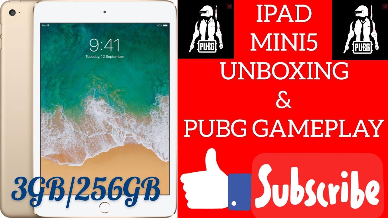 iPad mini 5 unboxing Pubg mobile gameplay in Hindi ?