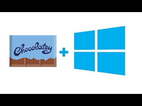 How to install and Use Chocolatey on Windows 10 (Windows Package Manager)
