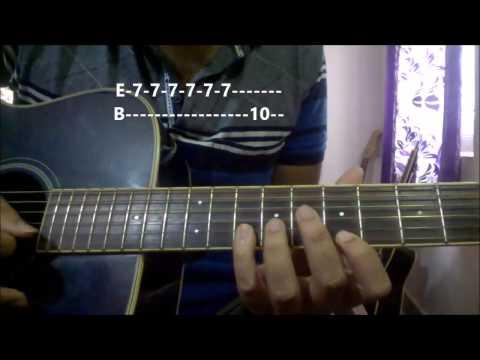 Ajeeb Dastan Hai Ye Guitar Tabs | Easy Beginners Lesson