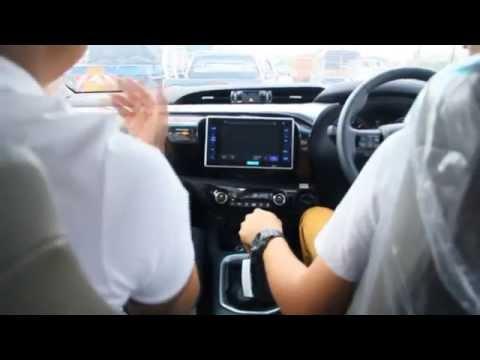 Toyota Hilux REVO (ทดลองขับ)
