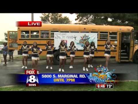 The Euclid High School Cheerleaders