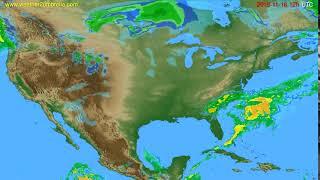 Radar forecast USA & Canada // modelrun: 00h UTC 2019-11-16