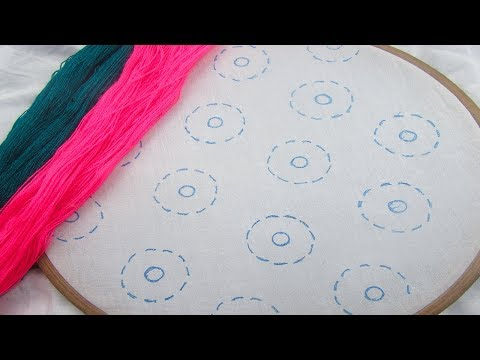 Hand Embroidery, All Over Design For Dress, Phulkari Dupatta Embroidery