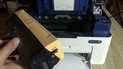 Xerox WorkCentre 3025 Replacing the Toner Cartridge