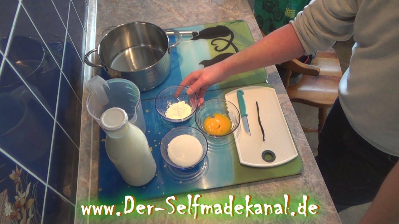 Vanillesoße selber machen Artikelbild