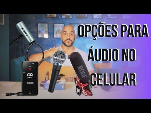 Áudio no #Celular - Lapela vs Condensador vs Shotgun. Qual #microfone usar?