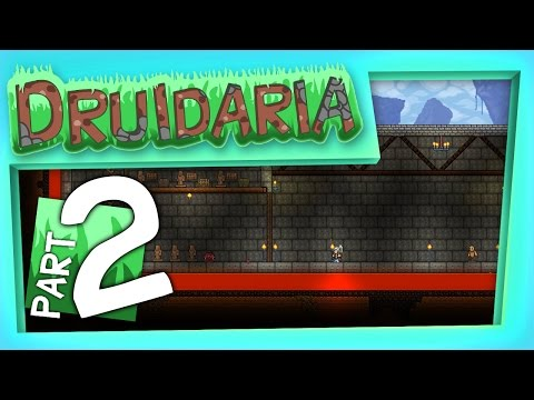 Terraria - Let's Build a Castle! (Part Two)