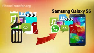 [Galaxy S5 Data Recovery]: How to Recover Deleted Data from Samsung Galaxy S5, S5 Mini