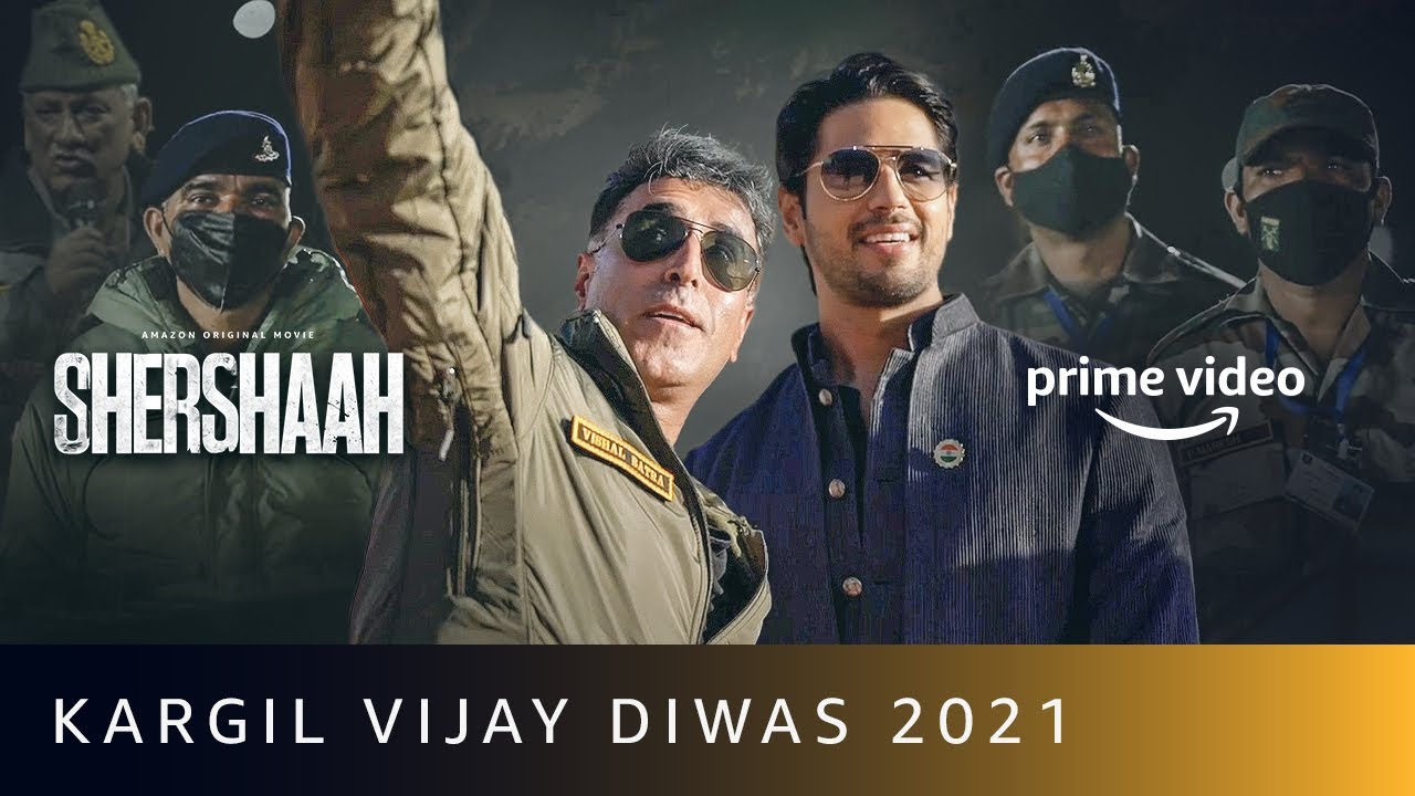 Shershaah At Kargil Vijay Diwas 2021 | Amazon Prime Video