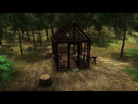 You are Henry David Thoreau in the Walden simulator video game