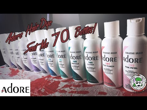 Adore Hair Dye 12 Shade Review/Swatch