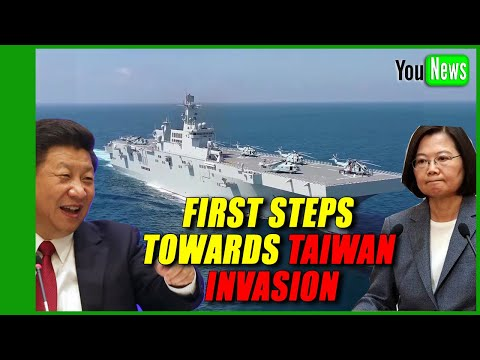 FIRST STEPS TOWARDS TAIWAN INVASION. Beijing set to send advanced carrier to SCS