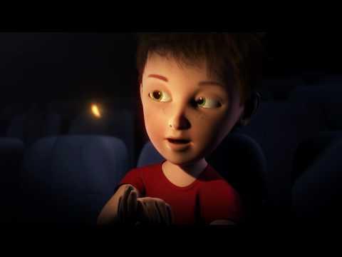 Barco digital cinema trailer