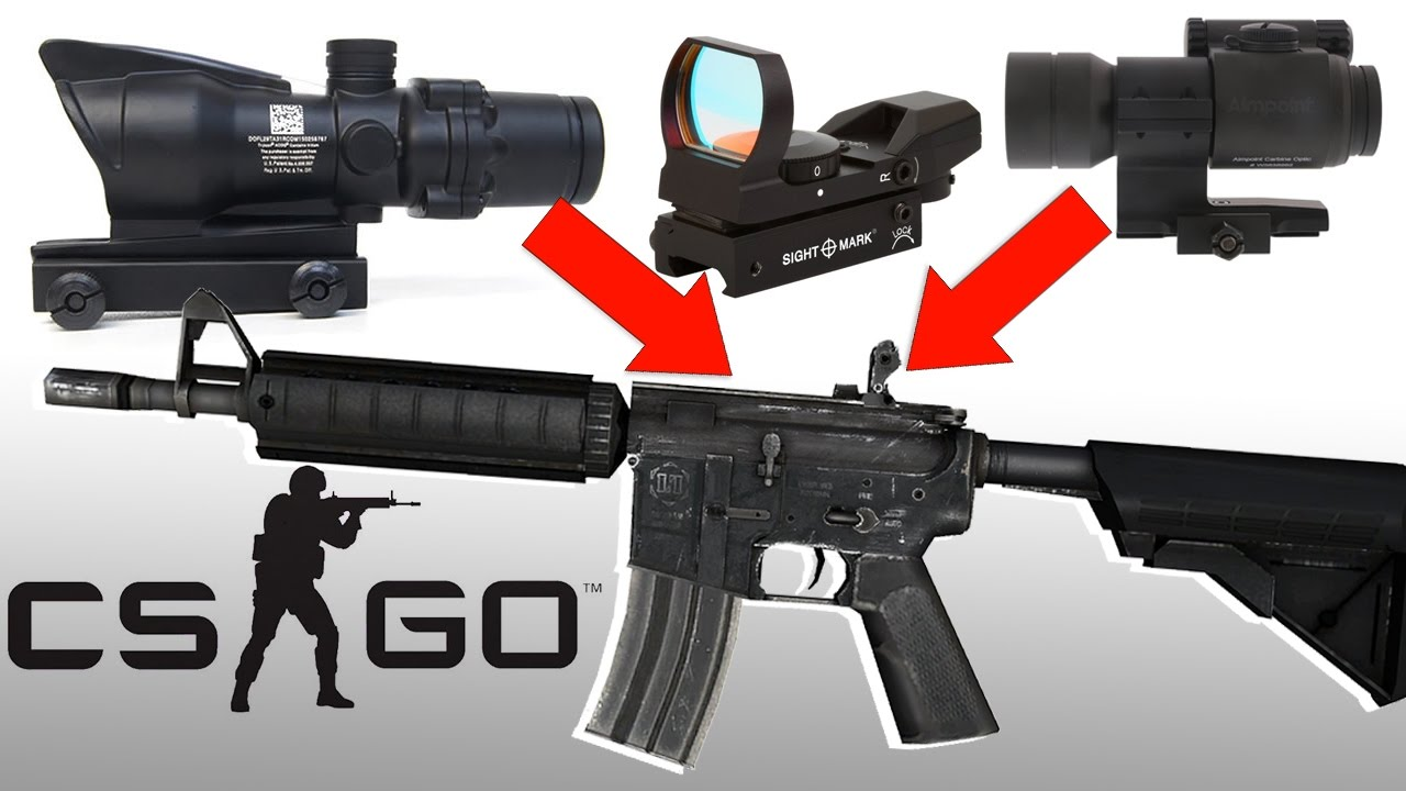 cs go custom sights upcoming content of counter strike m4a4 acog