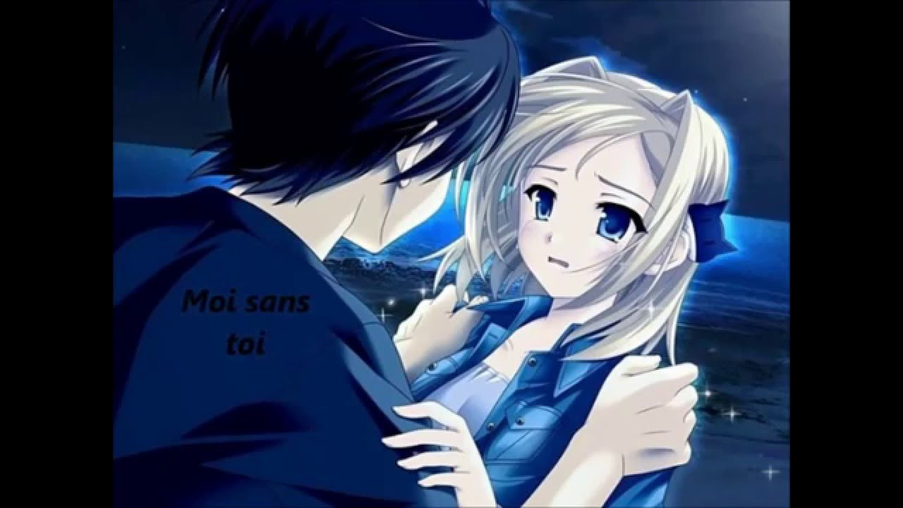 Nightcore moi sans toi youtube - Manga couple triste ...