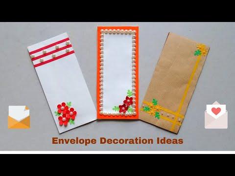DIY Origami Envelope Decoration   Paper Envelope Decoration Ideas