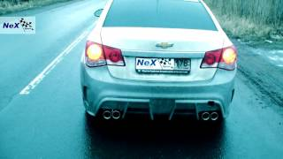 NeX® _Chevrolet Cruze Sedan.ЭКСКЛЮЗИВ! - Бампер + Глушитель раздвоенный. Такого Вы ещё не видели!(Доп.инфо и фото / More info: http://nex.su/shop/forum/?PAGE_NAME=read&FID=9&TID=566 Глушитель основной из нержавеющей стали серии -Форсаж-..., 2016-02-19T08:25:05.000Z)
