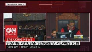 Gambar cover MK Tolak Eksepsi KPU-Tim Jokowi yang Protes Berkas Baru Gugatan Prabowo