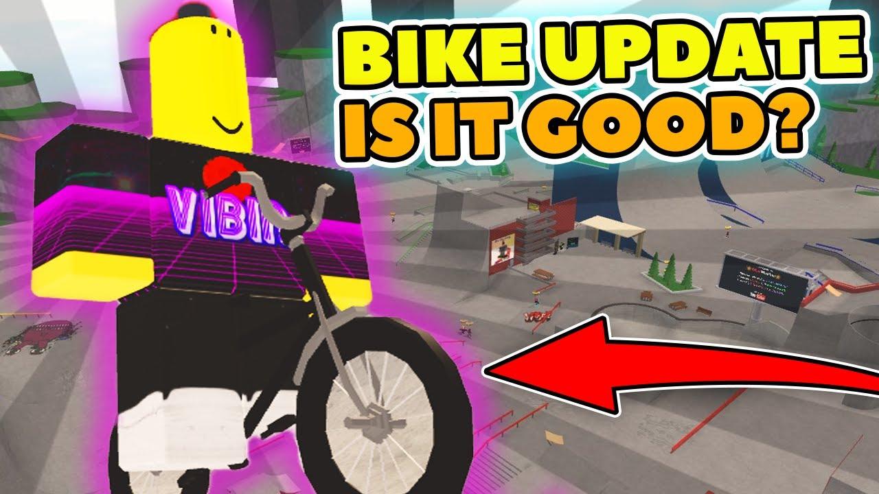 Bike Update All Skate Park Codes Roblox Youtube