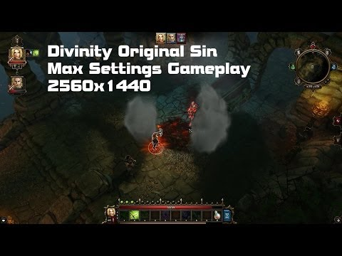 Divinity: Original Sin PC 1440p Max Settings Gameplay