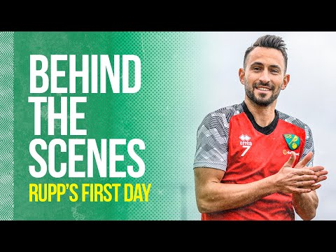 Behind The Scenes of Rupp's First Day at Norwich City FC