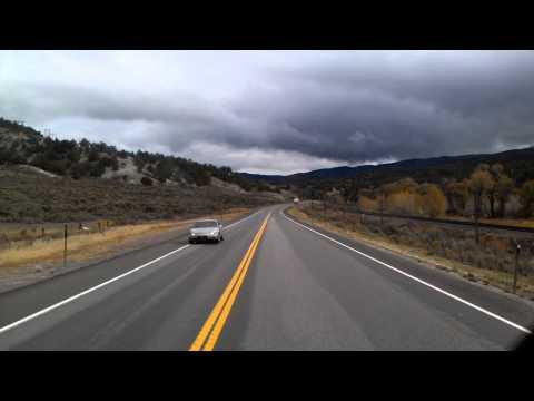 Autumn on US Highway 6 in Utah