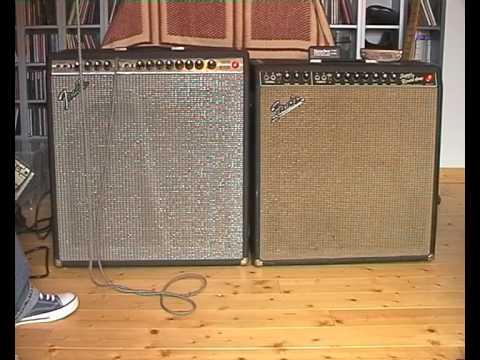 Harmonica Amps Vol71 Fender Super Reverb Blackface Vs Silverface