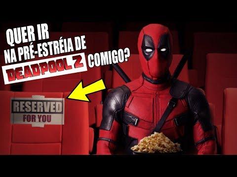 Deadpool 2: quem quer ir na PRÉ-ESTRÉIA do filme comigo? Fabricio Marvel e 30 fãs do canal!