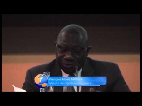 ouverture du séminaire sur la loi du sport à Abidjan
