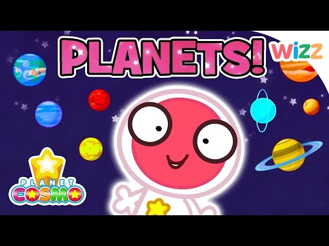 Planet Cosmo - Learning Planets | Neptune & Jupiter