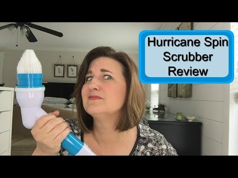 product review hurricane spin scrubber youtube. Black Bedroom Furniture Sets. Home Design Ideas