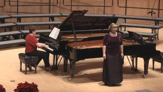 University of Utah - Gesu Bambino - Melissa Heath, Soprano - Emily Williams, Piano