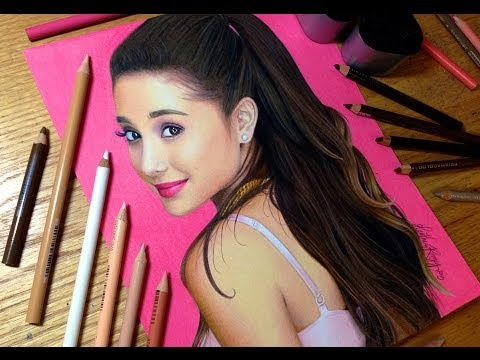 Drawing Ariana Grande