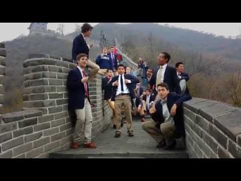 Princeton Tigertones on the Great Wall - Me and Julio Down by the Schoolyard