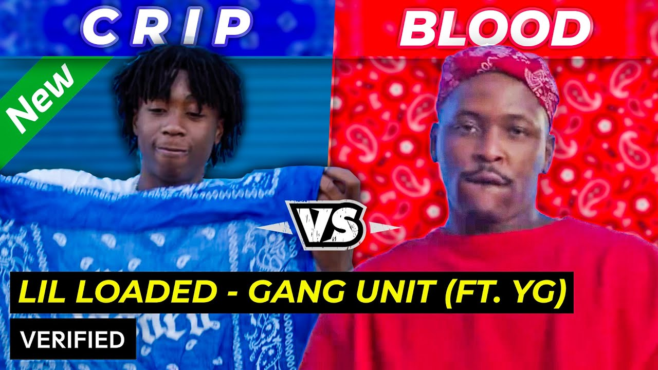"CRIP & BLOOD RAPPERS?! | LIL LOADED ft YG ""Gang Unit Remix"" REACTION"