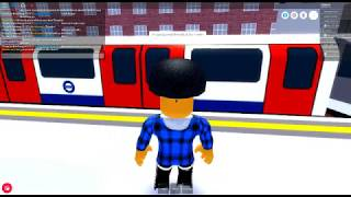 ROBLOX:Mind The Gap, DeepLevel Train ride from Dellgate to Ostbank