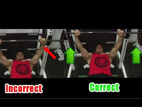 1 Bench Press Tip For Triceps Fixing Shoulder Pain Seperating The Bar