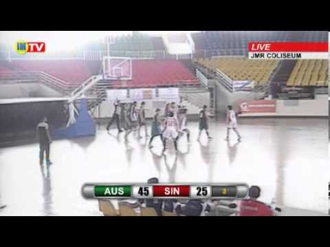 Australia vs Singapore - 2nd Discovery Women's Basketball Invitational