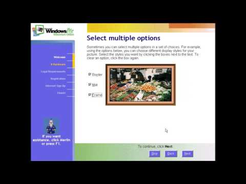 Windows Me Setup Video by Record Guy 626