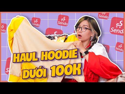 Haul Hoodie, Sweater Dưới 100k Trên Sendo || Đồ Đông Giá Rẻ
